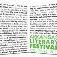 Arkansas Literary Festival 2015